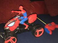 Spider-Man on quad remote control all working