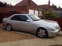Mercedes-Benz E Class 3.2 E320 Avantgarde 4dr 1owner from new, amg styling