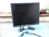 PC monitor: DELL 17'' LCD monitor, perfect for Office/shop work