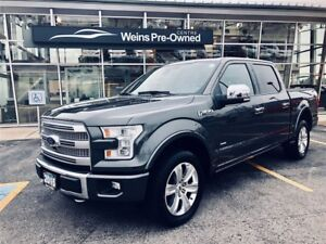 2015 Ford F-150 PLATINUM SUPERCREW LOADED 4X4
