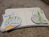 Wii Fit Board + Wii Fit & Wii Fit Plus