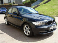 BMW 1 SERIES 2.0 118D SPORT 5d AUTO 141 BHP GREAT EXAMPLE OF AUTOMATIC + 1 PREVIOUS KEEPER +