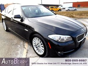 2013 BMW 5 Series 535i xDrive CERT E-TEST ACCIDENT FREE $29,999