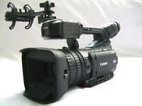 CANON XF205 HD PROFESSIONAL CAMCORDER SDI-OUT OUTFIT INC RAINCOVER (PAL)