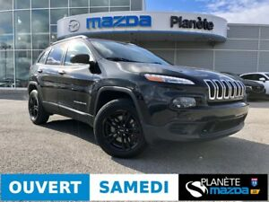 2016 JEEP CHEROKEE SPORT HITCH DÉMARREUR MAGS