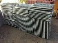 Redland grey roof tiles
