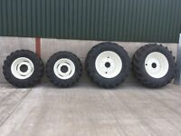Newholland Tractor Wheels & Tyres