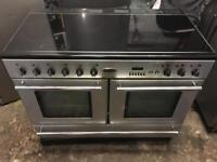 Rangemaster Toledo XT ceramic halogen electric cooker 110cm