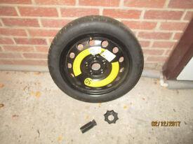 Space Saver Spare Wheel & Tyre Unused