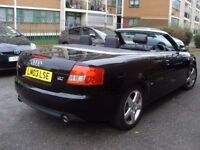 AUDI A4 1.8 T SPORTS CONVERTIBLE CABRIOLET ***** 3 DOOR COUPE
