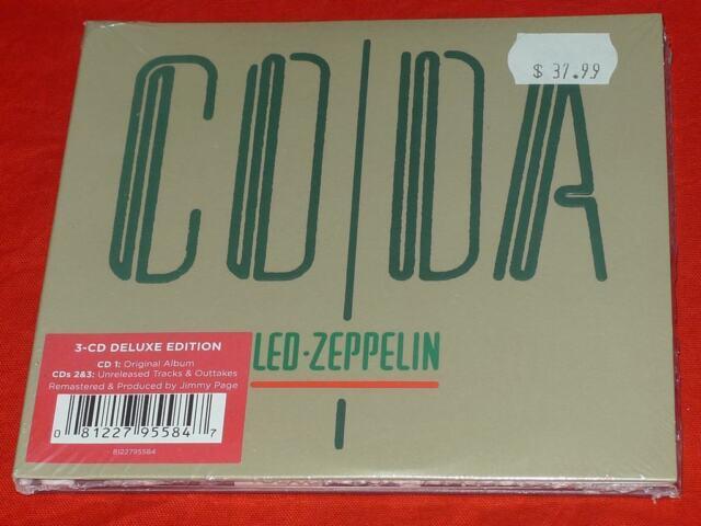 Coda [Deluxe Edition] [Slipcase] by Led Zeppelin (CD,Jul-2015,3 Discs, Atlantic)