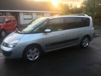 7 SEATER DIESEL THE PERFECT FAMILY CAR RENAULT GRD ESPACE EXPRESSION DCI MPV