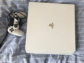 Selling a barely used PS4 (white with controller)
