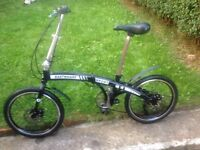 EASTWHARF SPORT folding bike 7 gears,front and rear disk brakes, fully working order