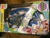 U.S DIVERS SILICON YOUTH SNORKELLING SET