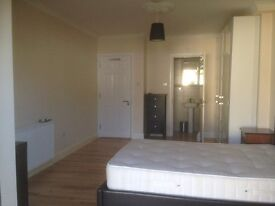 A modern Large double room with en suite shower in a new house in QUEENSBURY4th zone, Jubilee Line