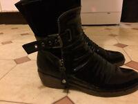Rieker Ladies Boots Rieker Bernadette Ankle Boots-Black