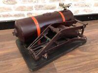 Vintage 1937 Devilbiss Aerograph Air Compressor