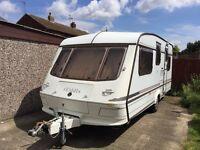 1998 elddis clyclone gtx 5 berth lovely caravan