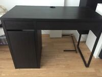 Desk from Ikea (Brown/Black)