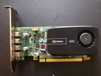 Quad Display Nvidia NVS 510 2GB Maximum 4x 4k Displays