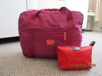 Holdall and Toilet Bag Travel Set