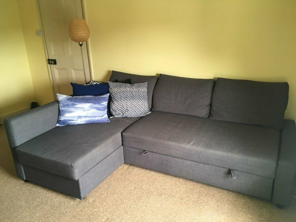 Miraculous Ikea Friheten Corner Sofa Bed With Storage For Sale In Cambridge Cambridgeshire Gumtree Bralicious Painted Fabric Chair Ideas Braliciousco