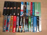 DVD boxsets £3 each (Damages, Teachers, 24, Sopranos, The Wire, Prison Break, Lost, Friends &more)