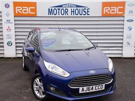 Ford Fiesta ZETEC (£30.00 ROAD TAX) FREE MOT'S AS LONG AS YOU OWN THE CAR!!! (blue) 2015