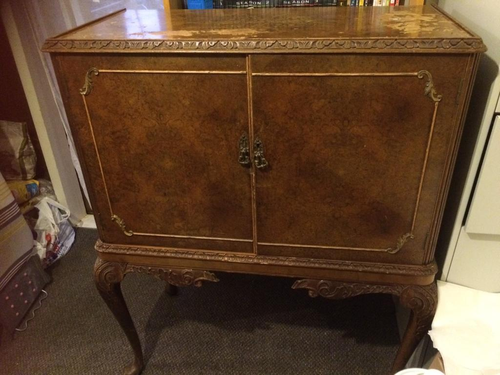 Old drinks cabinet