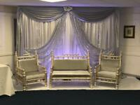 Marquee and Wedding/mehndi Stage Hire