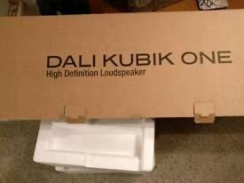Brand New. DALI KUBIK ONE HIGH DEFINITION SOUNDBAR