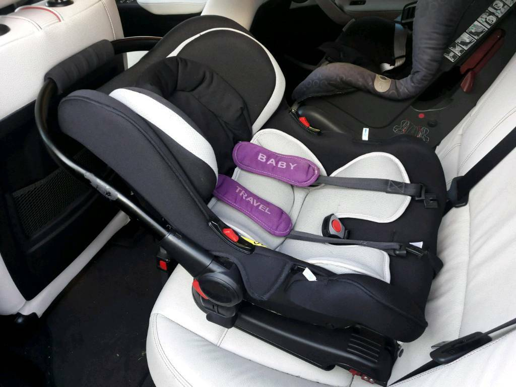 Ickle Bubba isofix baby car seat