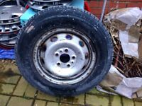 fiat ducato/citreon relay wheel and tyre