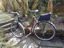 Dawes Sonoran Mens Claret Bicycle