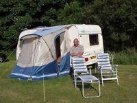 Porchlite Plus Caravan Awning plus carpet