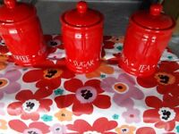 Kitchen Ceramic Canisters