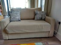 2 seater sofa into single sofabed