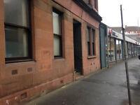1 Bedroom Ground Floor Studio flat To Rent In Pollokshaws Rd, Glasgow £320