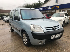 Peugeot Combi 1.4 Petrol (Wheel Chair Access)