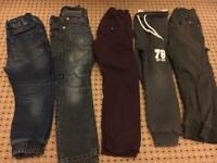 Bundle Of Boys trousers aged 4-years