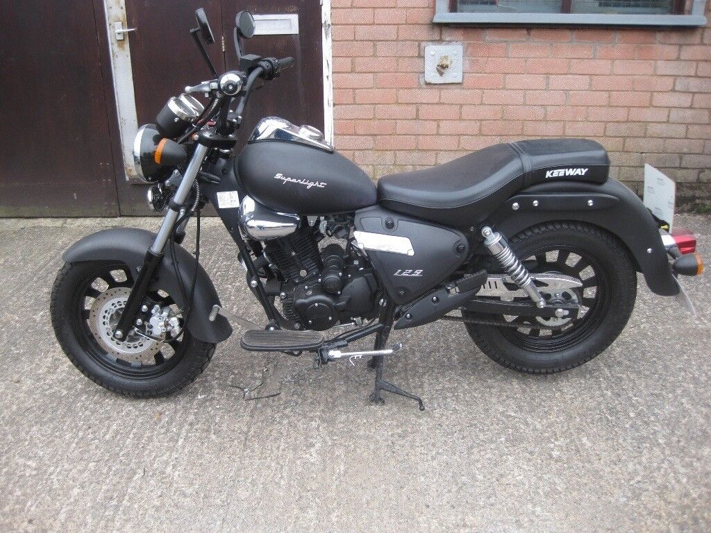 Keeway Superlight Matte Black 125cc 2014 (LOW MILEAGE)