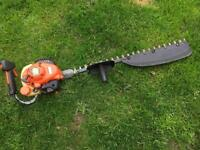 Echo petrol hedge trimmer professional single sided cutter