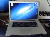 MacBook Pro 15 inch 3.2 quad core I7, 8GB Ram 500GB SSD latest OSX & Logic Pro X