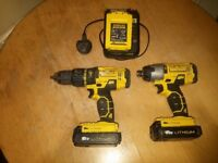 stanley fatmax impact and drill 18v