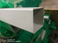 White square downpipe - 5.5m lengths x 166 available