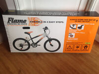 """BRAND NEW NEVER BEEN OPENED IN BOX 20"""" 6 GEAR BIKE"""
