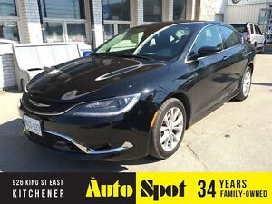 2015 Chrysler 200 TOP OF THE LINE/CLEAROUT/PRICED FOR A QUICKSAL Kitchener / Waterloo Kitchener Area image 1
