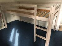 Children's Single Mid Sleeper Bed Frame