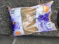 Bag of B&Q Sharp Sand Free to Collect